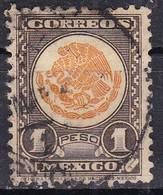Messico, 1934/40 - 1p Coat Of Arms - Nr.719 Usato° - Messico