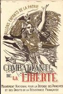 Carte, Combattants De La Liberté, Comité De Toulon         (bon Etat) - Documents
