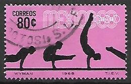 MEXIQUE   -   1968 .  JO De Mexico  /  Gymnastique .   Oblitéré  . - Mexico