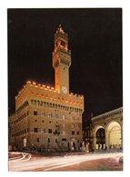 FIRENZE :  Palazzo Vecchio Di Notte -  Cartolina  NON Viaggiata - Firenze
