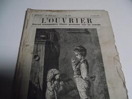 L'OUVRIER, Journal, Hebdomadaire Illustré, 1869, N°444, à 448 - Journaux - Quotidiens