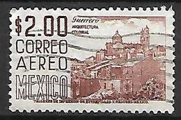 MEXIQUE   -   Aéro   -   Architecture Coloniale .   Oblitéré . - Mexico