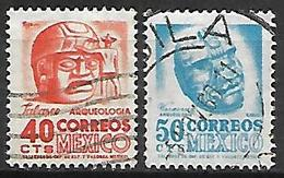 MEXIQUE   -   Archéologie.   Oblitérés . - Mexico