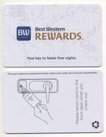 Hotel Key Card Best Western Rewards - Chiavi Elettroniche Di Alberghi