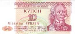10 Rubel  Transnistrischen Moldauische Republik, - Other - Europe