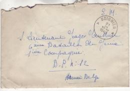 Lettre Envoyée En Franchise Militaire - Marcophilie