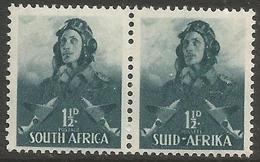 South Africa - 1942 Airman 1.5d Bilingual Pair MNH **  SG 90  Sc 83 - South Africa (...-1961)