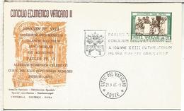VATICANO 1963 CONCILIO VATICANO II RELIGION TEOLOGIA - Cristianismo