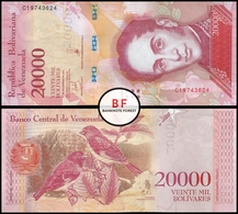 Venezuela   20.000 Bolivares   2017   P.99c   UNC - Venezuela