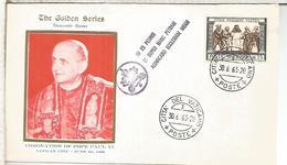VATICANO 1963 CORONACION DEL PAPA PABLO VI POPE - Papas