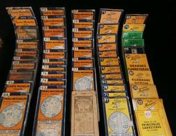 Lot 49 Cartes Routières MICHELIN De 1925 à 1960 + GUIDE ROUGE Clermont Ferrand - Roadmaps