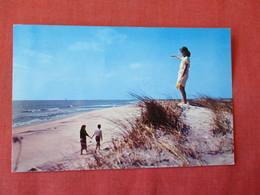 New York > Long Island -Children On Shore Line   -ref 3366 - Long Island