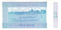 1 Kyatts Myanmar - Myanmar