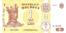 1 Leu Moldavien 2010 - Moldawien (Moldau)