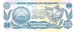 25 Centavos Nicaragua - Nicaragua