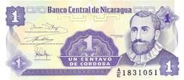 1 Centavos Nicaragua - Nicaragua