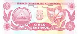 5 Centavos Nicaragua - Nicaragua