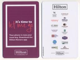 Hotel Keycard Key Card HILTON Honors - Hotelkarten