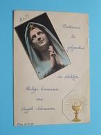 Feest HEILIGE COMMUNIE Van Angèle Adriaensen Den 30/5/1943 ! - Menus
