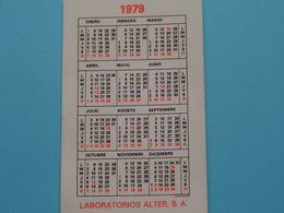 LABORATORIOS ALTER S.A. > 1979 > NUTRIBEN Alimentacion Infantil Natural E Instantanea Harinas Y Tarros ! - Calendriers
