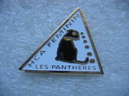 """Pin's Du HCA Féminin (Hockey Club Ajoie) En Suisse, """"Les Pantheres"""" - Skating (Figure)"""