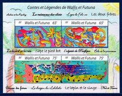 Wallis Et Futuna Bf 019 Contes Et Légendes, Chat, Papillon, Baleine, Tortue, Poisson, Pieuvre - Contes, Fables & Légendes