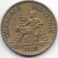 France  1 Franc  1922 Km 876   Xf - Francia