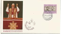 VATICANO 1963 CORONACION PAPA PABLO VI - Papas