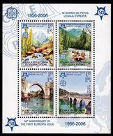 2006 - BOSNIA SERBA - CINQUANTESIMO DEL PRIMO FRANCOBOLLO CEPT - 50TH OF THE FIRST EUROPA CEPT STAMP.MNH - Bosnia Erzegovina