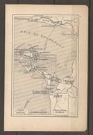 CARTE PLAN 1923 NOIRMOUTIER VENDEE (85) BAIE DE BOURGNEUF FROMENTINE LES MARGUERITES - Topographical Maps