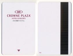 Hotel Key Card Crowne Plaza HOTEL IHG - Chiavi Elettroniche Di Alberghi