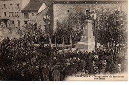 Rieutort : Inauguration Du Monument Aux Morts (dos Vert) - France