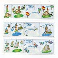 Componibili KINDER - 1999 - Cartine Nr. 61 - 62 - 63 - (FDC15512) - Istruzioni