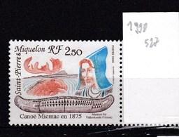 St. Pierre Et Miquelon Neuf ** 1990 - St.Pierre & Miquelon