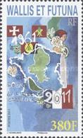 Wallis Et Futuna 0754 Carte Géographique , Drapeau , Histoire - Wallis-Et-Futuna