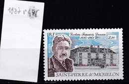 St. Pierre Et Miquelon Neuf ** 1987 - St.Pierre & Miquelon