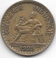 France  1 Franc  1923 Km 876   Xf - Francia