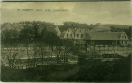 AK GERMANY - ST. INGBERT - KATH. - GESELLSCHAFTSHAUS - EDIT. JOHN FRIEDRICH - 1910s (BG3472) - Saarpfalz-Kreis