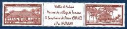 Wallis Et Futuna 0681/82 Village Tamana , Sanctuaire De Saint Pierre-Marie Chanel - Neufs