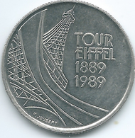 France - 1989 - 5 Francs - Centenary Of The Eiffel Tower - KM968 - France