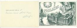 CPM PHILATEC  / CARTE DE VOEUX - Postal Services