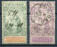TRINITE - N° 51 & 60 OBL. - B - Trinidad & Tobago (1962-...)
