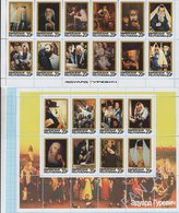 Jewish Republic / Stamps / Private Issue. Painting . Edward Gurevich . Judaica. Judaism. 2016. - Fantasy Labels