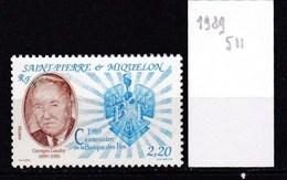 St. Pierre Et Miquelon Neuf **  1989 - St.Pierre & Miquelon