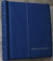 Leuchtturm Klemmbinder Deutsches Reich 1933 - 45 Mit S/w Text - Stockbooks