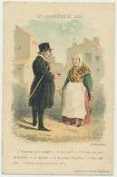 Les Humoristes De Jadis - Illustrateur H. Daumier - Otros Ilustradores