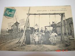 C.P.A.- Mont Avril (71) - Le Moulin Et Les Balançoires - 1909 - SUP (BK 57) - France