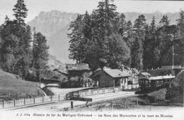 Chemin De Fer Du Martigny -Chatelard La Gare Des Marécottes Et La Dent De Morcles - Schweiz