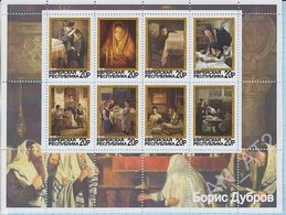 Jewish Republic / Stamps / Private Issue. Painting . Boris Dubrov . Judaica. Judaism. 2016. - Fantasy Labels