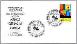 Vinos Con Denominacion De Origen - SIERRAS DE MALAGA. Vino - Wine. SPD/FDC Malaga, Andalucia, 2004 - Vinos Y Alcoholes